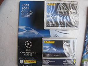 Panini Uefa Champions League 2008 / 2009 2 Boxes + Album Italy
