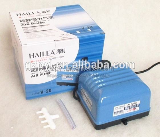 HAILEA V20 Oxygen pump Koi aquarium fish pond ultra quiet pump strong energy-saving pump