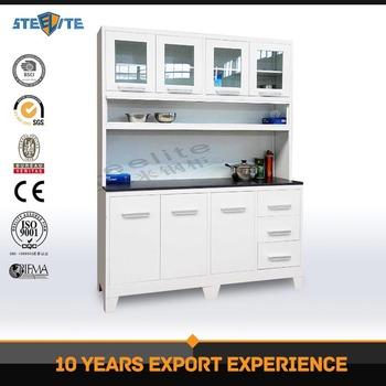 China Made Modern New Design Cebu Philippines Furniture Kitchen Cabinet Metal Kitchen Cupboard