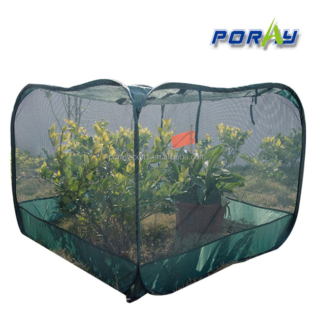 Poray 100 75cm New Dark Green Netting Pop Up Clear Nets Cover For