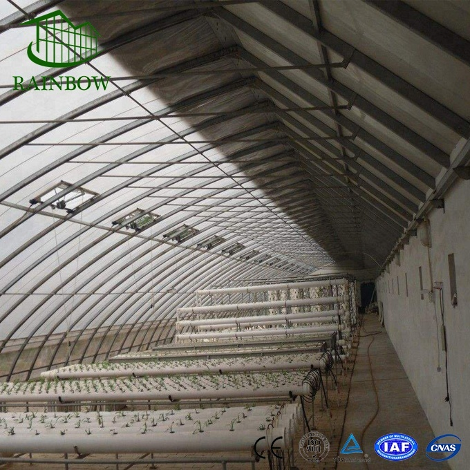 galvanized steel frame solar greenhouse