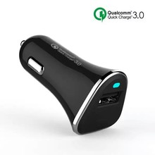2016 Newest 3A Qualcomm Certified QC3.0 Single USB Charge Port Car Charger Quick Charge 3.0 Compatible with Quick Charge 2.0