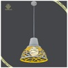 Fashion Home Decorative Yellow Stairs Pendant Light Modern Pendant Lamp Iron Pendant Lamp