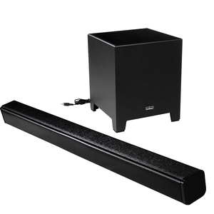 2017 New high end 2.1 Channel Bluetooth TV sound bar with subwoofer