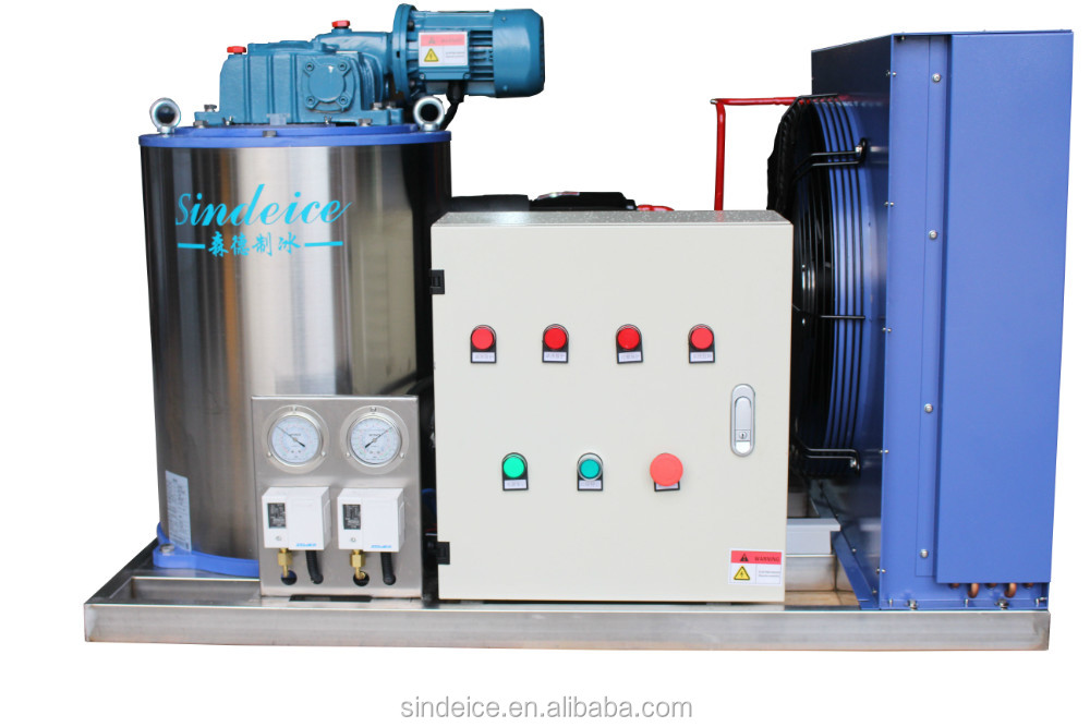 Flake ice machine 500 kg/ day CE/ISO approved, Hot sale model!