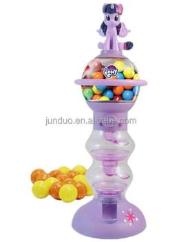 Cioccolato candy gumball distributore carino kawaii dolce pony