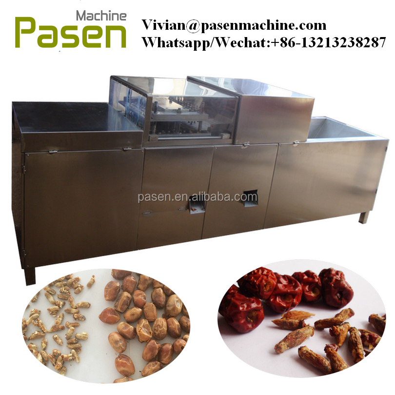 Red Jujube Kernel Pitter Machine|Dates Core Remover Machine|Red Dates Kernel Extracting Machine