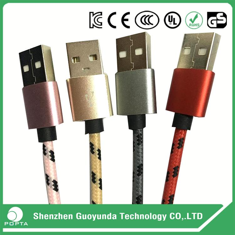 Cable USB 3.1 Type-C micro usb adapter, charging cord, braided usb cable