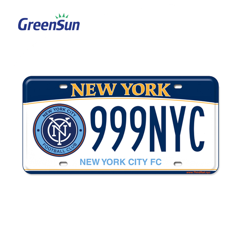 Top level stylish plastic car number license plate
