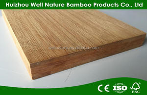 carbonized horizontal 25mm solid bamboo plywood , cheap plywood for sale