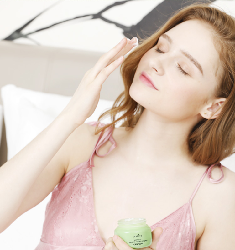 Skin Care Natural Herbal Facial Night Cream China Factory