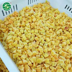 ISO Approved Fresh hot selling frozen iqf yellow peach price