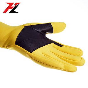 Synthetic leather equestrian gloves horse riding gloves