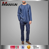 Denim Muslim Baju Melayu Men Casual Suits Islamic Clothing For Men High Quality Mens Top