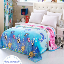 SZPLH High Quality Reasonable Price Free Sample baby blanket embroidery patterns Coral Fleece Blanket