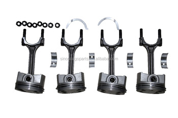 Piston,Connecting Rod For Chery Qq,372-1004021ac,Sqr372,Sqr472 Engine,Chery  Motor,China Auto Spare Parts,1100 Utv,1100 Buggy - Buy