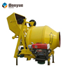 Good cost performance Dongyue JZC series concrete mixer diesel style mixer sell in Africa