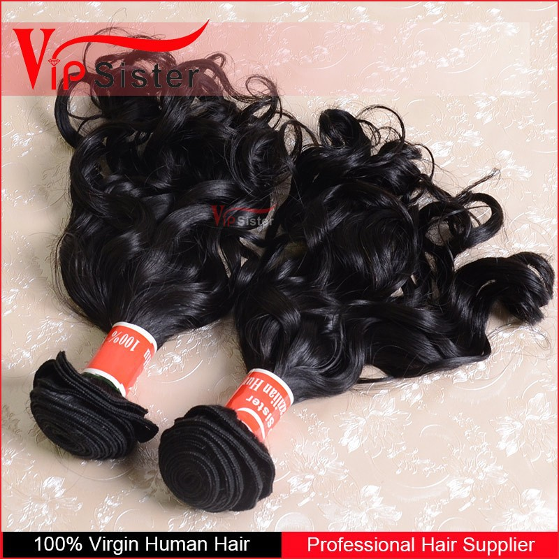 12 Inch virgin natural wave unprocessed peruvian hair with wholesale price