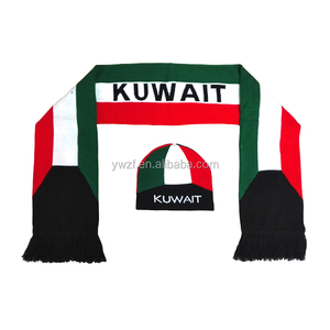 National Day Scarf For Kuwait & Uae Wholesale, Scarf