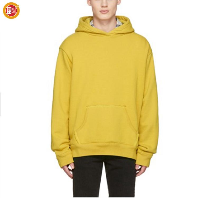 4149d83a1 2019 Men Dropped Shoulder Hood Attached Kangroo Pocket Pull Over Sweatshirt  Yellow Hoodies Oversize Best Hoodie Brands - Buy Hoodie,Oversized ...