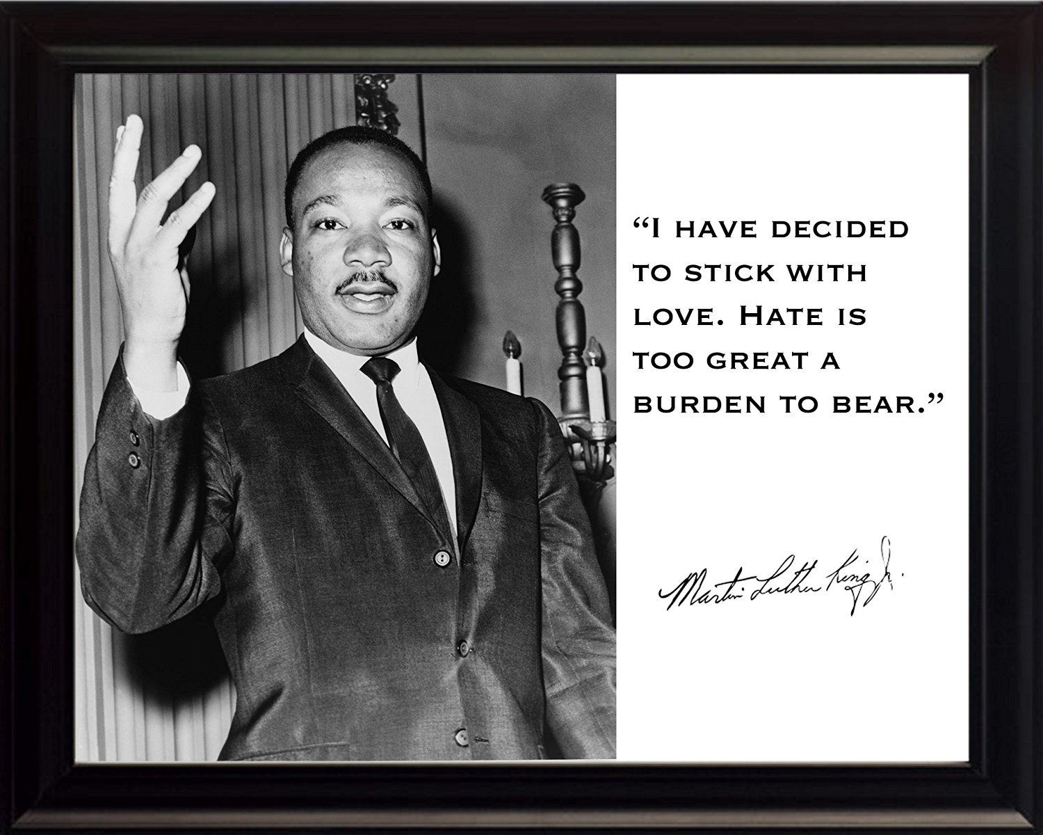 Buy Martin Luther King Jr Mlk I Have Decided To Stick With Love