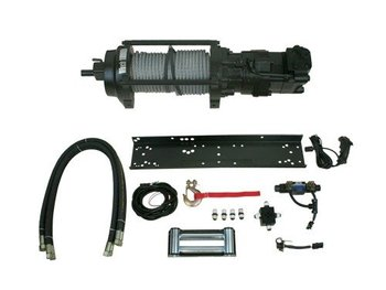 atlas 10 000 lb hydraulic winch package buy winch. Black Bedroom Furniture Sets. Home Design Ideas