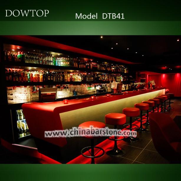madera barra de bar pub rojo comercial bar muebles de la barra ...