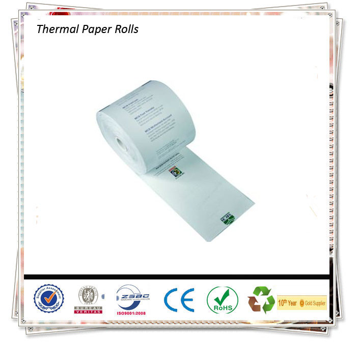 Cheap Pos Cash Registers Pre-Printed Thermal Paper roll 80 x 80 /Thermal paper Jumbo Rolls
