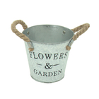 Hot selling customized handmade iron metal flower pot garden