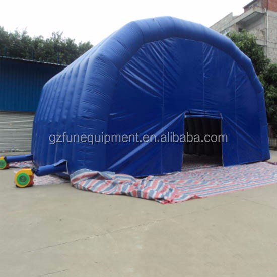 inflatable advertising blue tent inflatable house