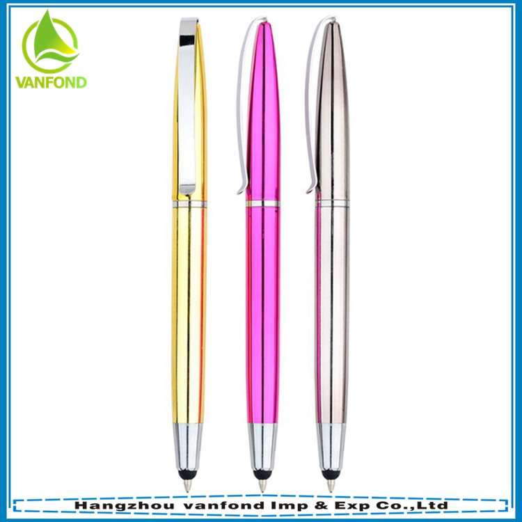 High sensitive tablet capacitive touch pen with ball pen