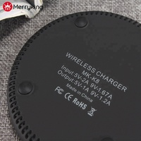 Ultra-thin 6.5mm 5V 1A/9V 1.2A quick QI mobile wireless phone charger