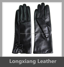 iPhone screens sheepskin leather winter gloves for women xxl
