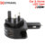 Unique mold universal 2 ports charger portable dual usb car charger colorful 5V 2.4A dual usb car charger
