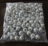"1-75 1 1/2"" DIAMETER BINGO BALL-5 COLOR DOUBLE NUMBER PRINT CLEAR COATED SV"