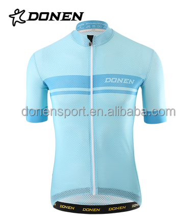 high quality polyester short sleeve cycling jersey,cycling ,elastic cuff cycling jersey