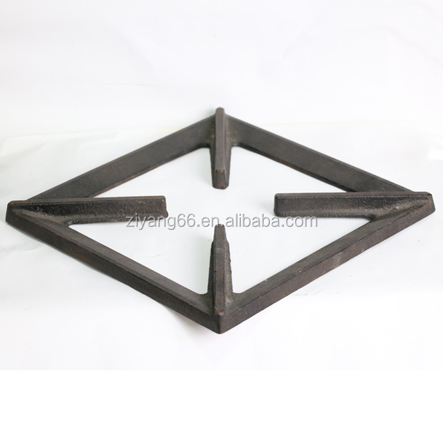cast iron gas stove burner grill grate for Hob / Cooktop / Oven