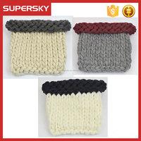 T406 ladies wallets handmade crochet knit women purses bag