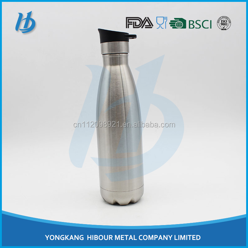 2017 factory OEM stainless steel vacuum flask bottles, double walled thermos vacuum flask with best quality