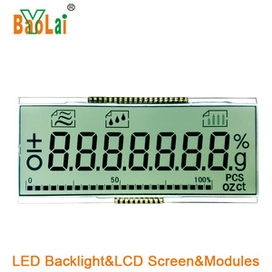custom 1 inch small lcd display screen with/without backlight