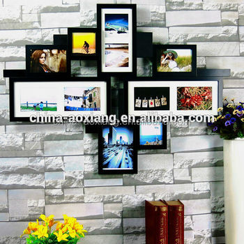 simple hanging love photo frame collage for picture and photo art and craft for waste