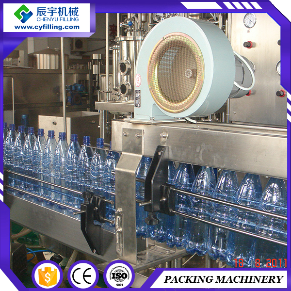 Hot products artesian spring line pure water bottle filling and sealing machine