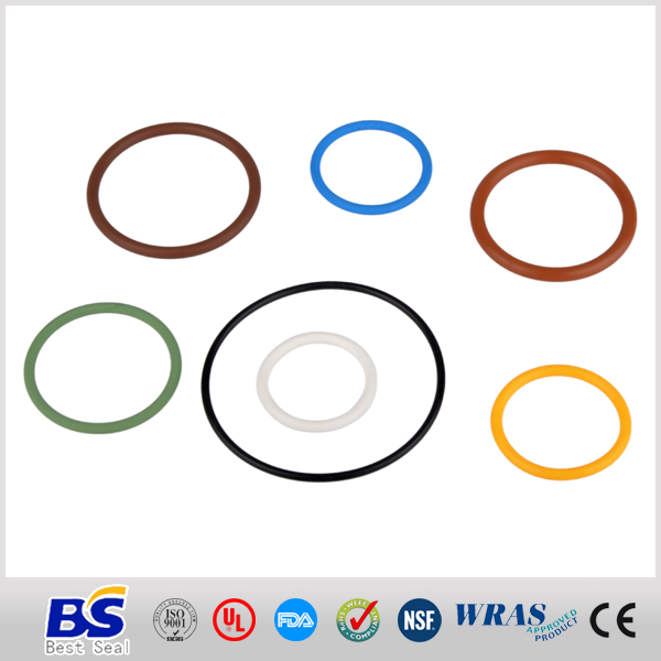 High quality and low price oem colored rubber band o rings