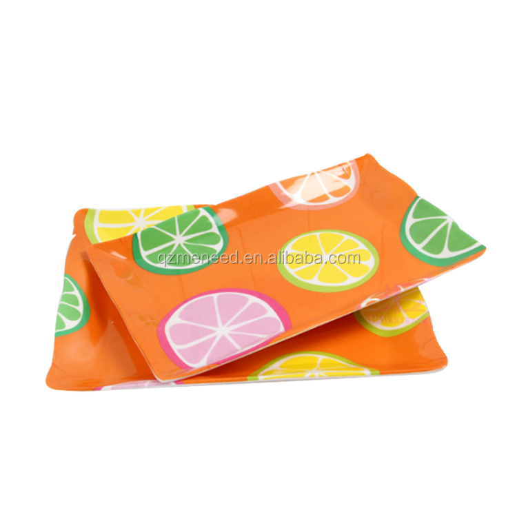 Full Print Colorful Candy and Fruit Serving Trays