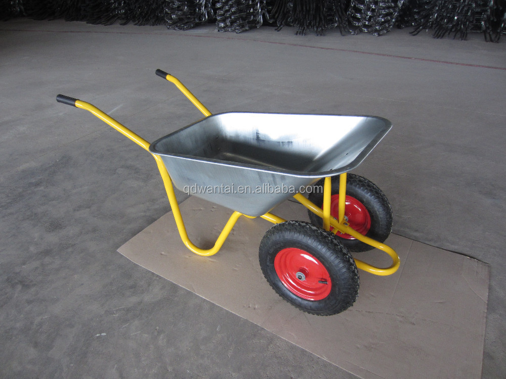 WB5009M galvanized wheel barrow