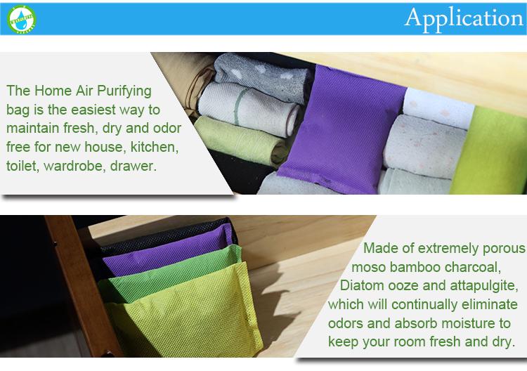 Homemade Customized Natural Bathroom Hotel Room Deodorizer Bag