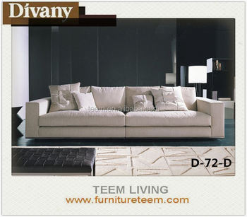 Divany Modern Style Burgundy Sectional Sofa Leather White Recliner ...