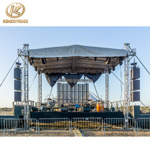 Hot Sale Aluminum Concert Roof Truss System With Stage