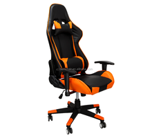 Modern leather raclining gaming office chair luxury racing office chair