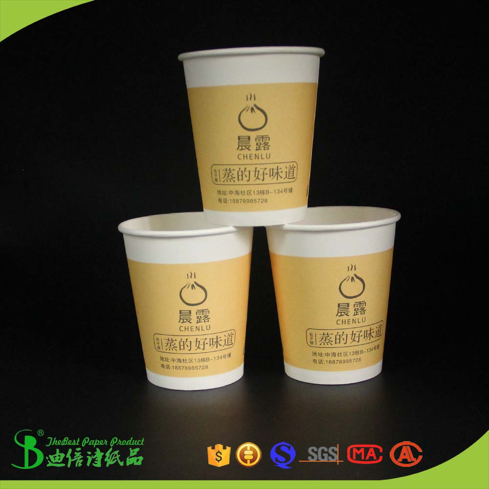 TheBEST Biodegradable logo printing reusable paper 400ml bowl lid